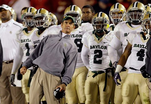 Is Baylor among the Big 12's elite? (AP Photo/Charlie Neibergall)
