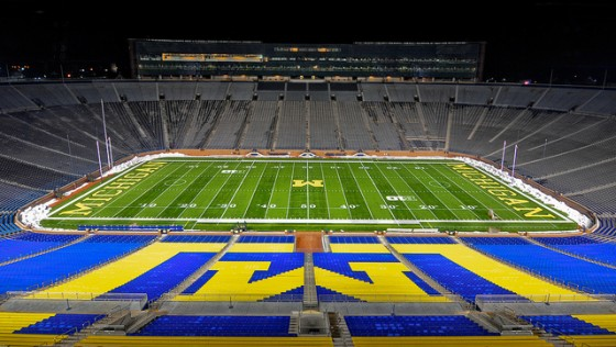 Michigan Stadium. Photo by Andrew Horne/Flickr