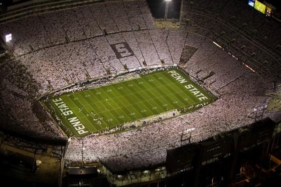 Beaver Stadium White Out