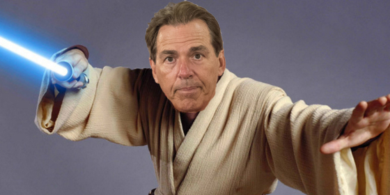 Is Nick Saban more Jedi than Sith?