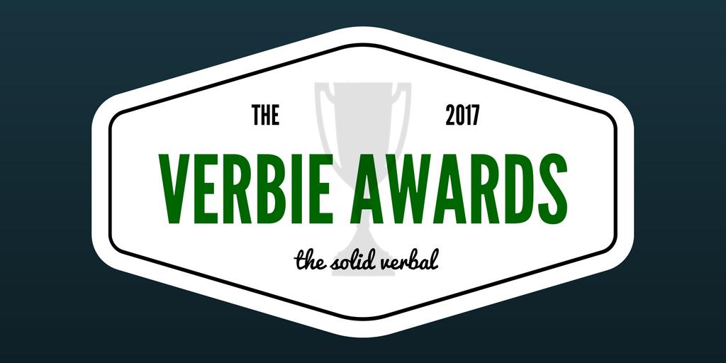 the 2017 verbie awards