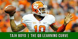 Tajh Boyd on The QB Learning Curve