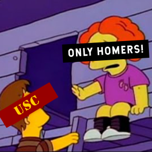 Only Homers Allowed: USC