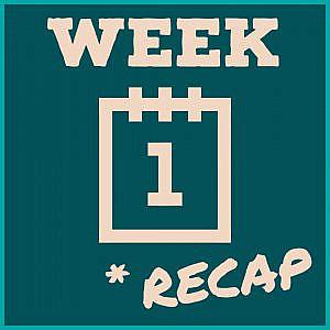 Week 1 Recap