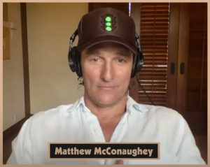 Matthew McConaughey joins The Solid Verbal