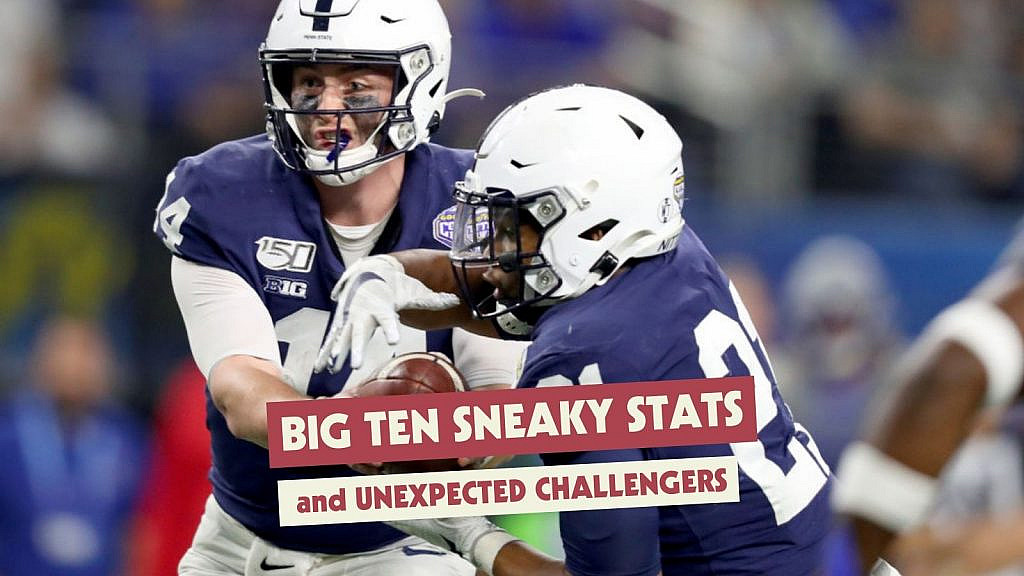 Big Ten Sneaky Stats and Unexpected Challengers